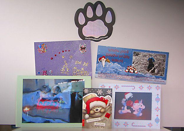 Purplebear's Christmas 2011 - Christmas cards