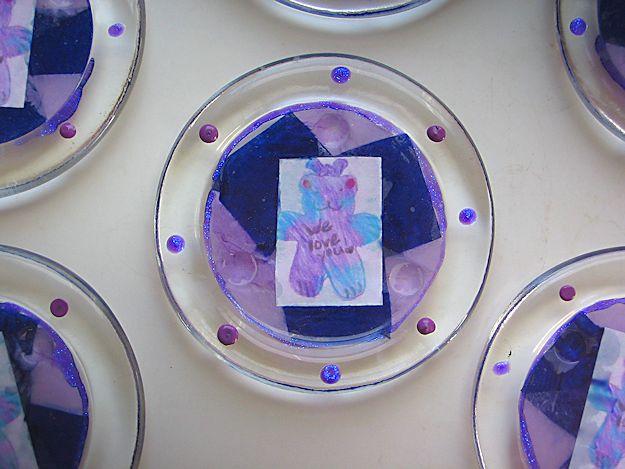 Purplebear's Christmas 2011 - Purplebear coasters